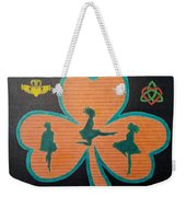 Irish Step Dancers Weekender Tote Bag
