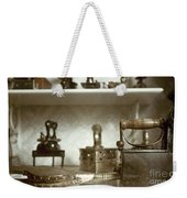 Iron, 19th Century Weekender Tote Bag