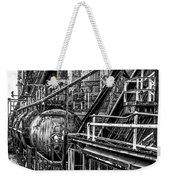 Iron Age - Bethelehem Steel Mill Weekender Tote Bag