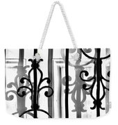 Iron And Shadow Weekender Tote Bag
