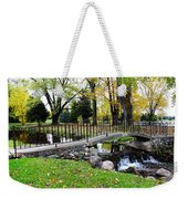 Iron And Stone Weekender Tote Bag