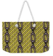Iron Chains With Knit Seamless Texture Weekender Tote Bag