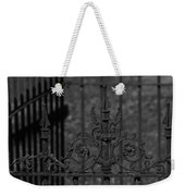 Iron Fence Gate Weekender Tote Bag