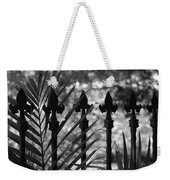Iron Fence Weekender Tote Bag
