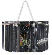 Iron Fence Weekender Tote Bag