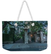 Iron Fire Entrance Weekender Tote Bag