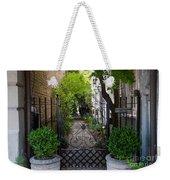 Iron Gate Alley Weekender Tote Bag