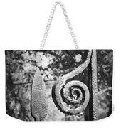 Iron Gate Detail County Clare Ireland Weekender Tote Bag