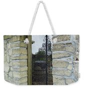 Iron Gate To The Garden Weekender Tote Bag