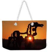 Iron Horse Heart Warming Weekender Tote Bag