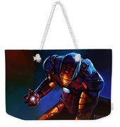 Iron Man Weekender Tote Bag by Paul Meijering