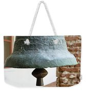 Iron Mission Bell Weekender Tote Bag