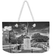 Iron Mke Statue - Parris Island Weekender Tote Bag