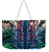 Iron Scroll Entrance Weekender Tote Bag