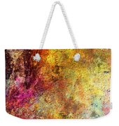 Iron Texture Painting Weekender Tote Bag
