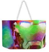 Ironman Abstract Digital Paint 1 Weekender Tote Bag