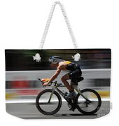 Ironman Need For Speed Weekender Tote Bag by Bob Christopher