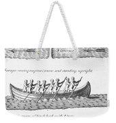 Iroquois Canoes Weekender Tote Bag