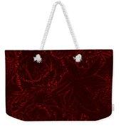 Irridescent Red Weekender Tote Bag