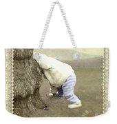 Is Bunny Behind Tree? Weekender Tote Bag