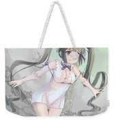 Is It Wrong To Try To Pick Up Girls In A Dungeon? Weekender Tote Bag