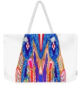 Is That A Head Or A Hat ??  Alien Fineart Graphic Whimsical Rohrshoc Abstract By Navinjoshi Weekender Tote Bag