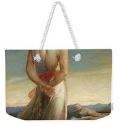 Isaac Going Forth To Meditate Weekender Tote Bag
