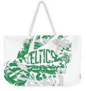 Isaiah Thomas Boston Celtics Pixel Art 15 Weekender Tote Bag