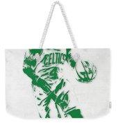 Isaiah Thomas Boston Celtics Pixel Art 2 Weekender Tote Bag