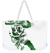 Isaiah Thomas Boston Celtics Pixel Art 5 Weekender Tote Bag