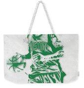 Isaiah Thomas Boston Celtics Pixel Art Weekender Tote Bag