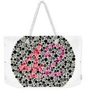 Ishihara Color Blindness Test Weekender Tote Bag