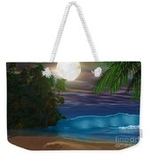 Island Beach Weekender Tote Bag by Corey Ford