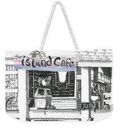 Island Cafe Weekender Tote Bag