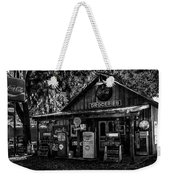 Island Grove Service Station Weekender Tote Bag