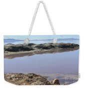 Island In The Desert Weekender Tote Bag