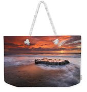 Island In The Storm Weekender Tote Bag