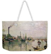 Island Of The Cross At Rouen Weekender Tote Bag