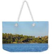 Island Off Of Cedar Key Weekender Tote Bag