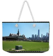 Island Park Elise Museaum Of American Immigration Journey Trip To Newyork Travel Zone America Photog Weekender Tote Bag