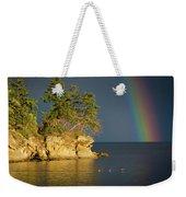 Island Rainbow Weekender Tote Bag