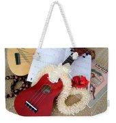 Island Style Christmas Weekender Tote Bag