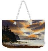 Islands Autumn Sky Weekender Tote Bag