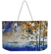 Islands Of Lake Michigan Weekender Tote Bag