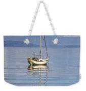 Isle Of Colonsay, Scotland Sailboat On Weekender Tote Bag