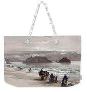 Isle Of Graia Gulf Of Akabah Arabia Petraea Feby 27th 1839 Weekender Tote Bag