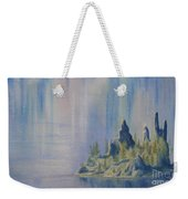 Isle Of Reflection Weekender Tote Bag