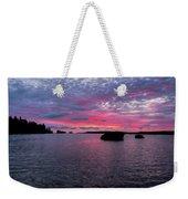 Isle Royale Belle Isle Dawn Weekender Tote Bag