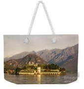 lake Maggiore, Borromean island, Piedmont Italy Weekender Tote Bag