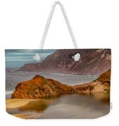 Isolated Cove Weekender Tote Bag